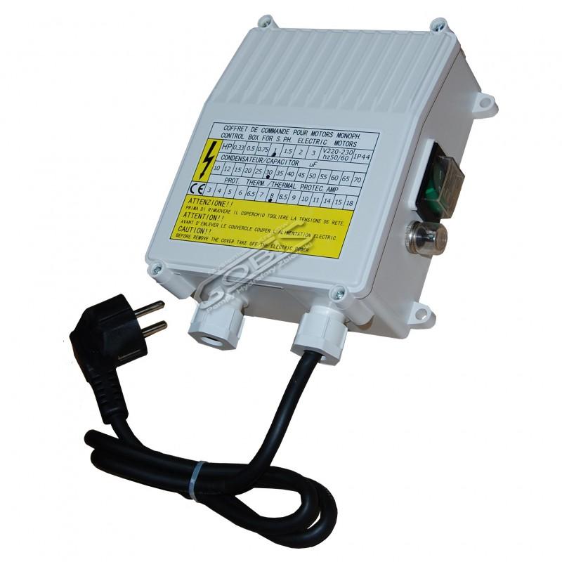 Skrzynka rozruchowa 1,5 kW/230V